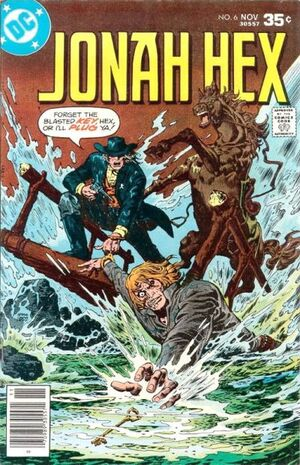 Cover for Jonah Hex #6 (1977)