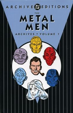 Cover for the The Metal Men Archives Vol. 1 Trade Paperback