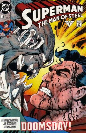 Cover for Superman: Man of Steel #19 (1993)