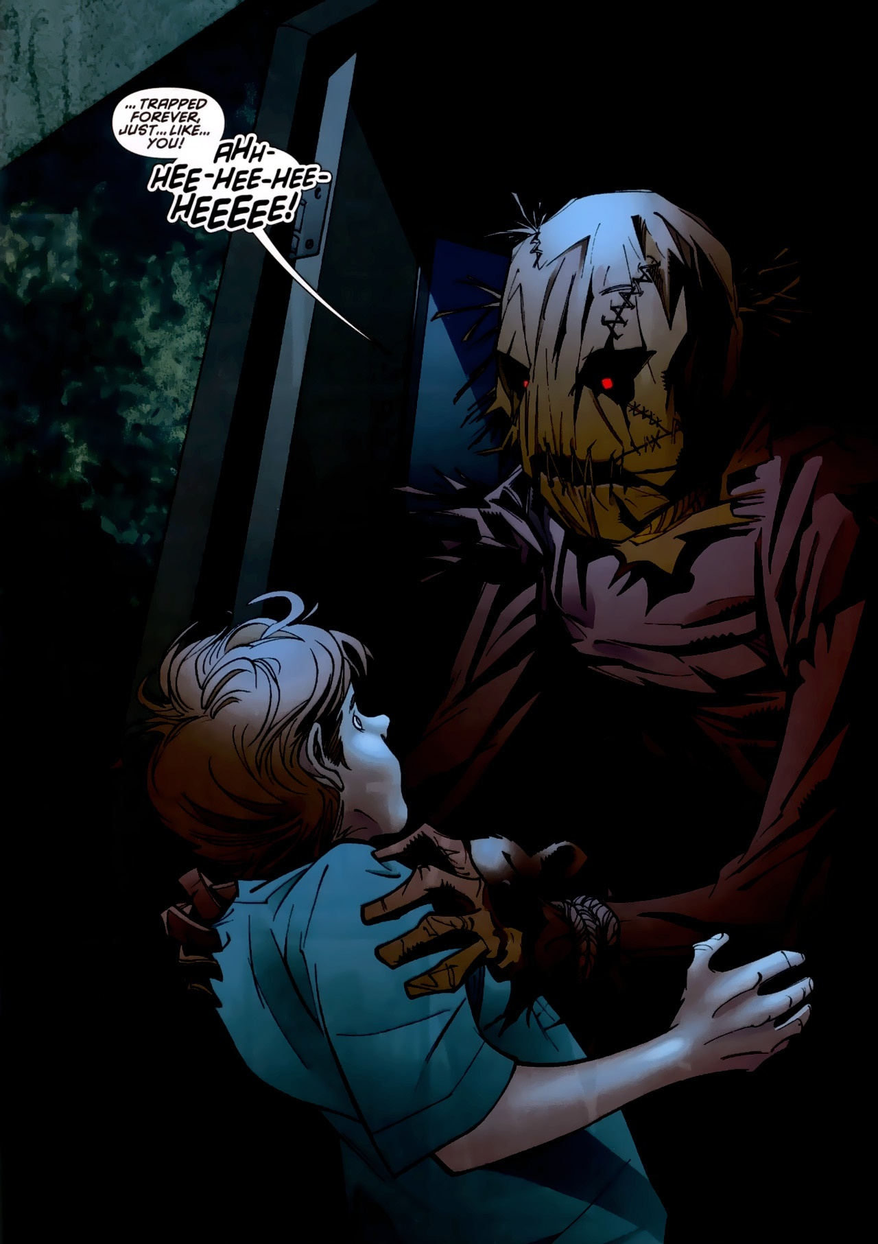 how tall is dc scarecrow