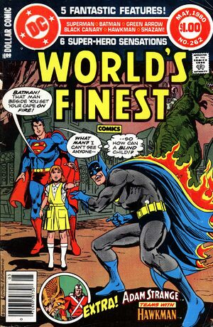Cover for World's Finest #262 (1980)