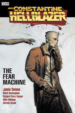 Cover for the Hellblazer: The Fear Machine Trade Paperback