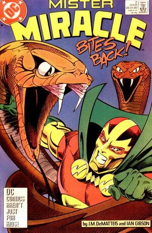 Cover for Mister Miracle #2 (1989)