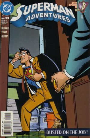 Cover for Superman Adventures #33 (1999)