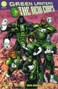 Green Lantern the New Corps Vol 1 1