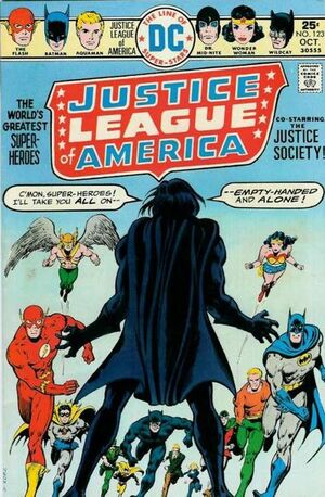 Cover for Justice League of America #123 (1975)