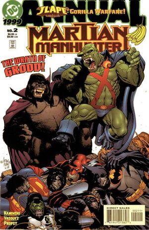 Cover for Martian Manhunter Annual #2 (1999)