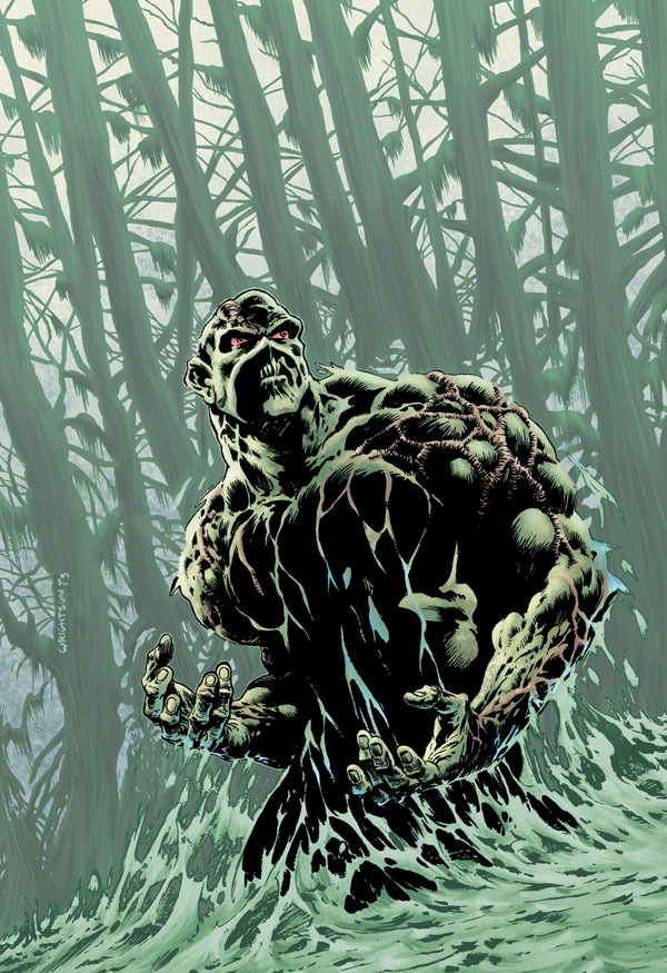 Swamp Thing (New Earth) | DC Database | Fandom powered by ... | 600 x 875 jpeg 200kB