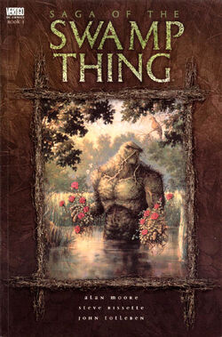 Cover for the Saga of the Swamp Thing Trade Paperback