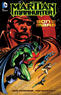 Cover for the Martian Manhunter: Son of Mars Trade Paperback