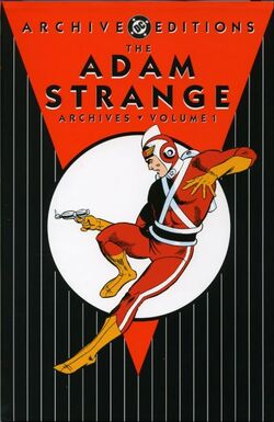Cover for the The Adam Strange Archives Vol. 1 Trade Paperback