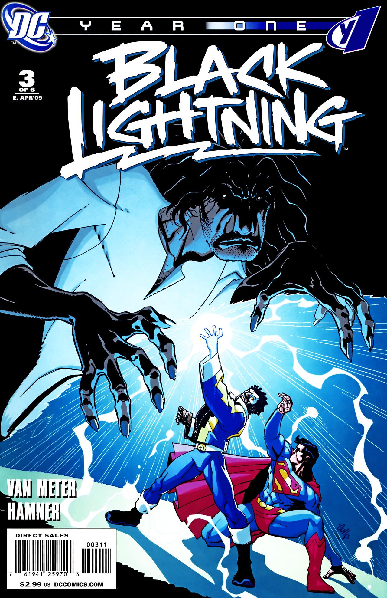 My Blog Verwandt Mit Lightning: Black Lightning: Year One Vol 1 3