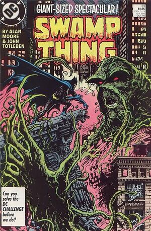 Cover for Swamp Thing #53 (1986)