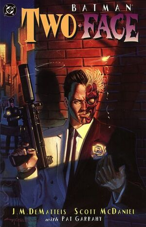 Cover for Batman: Two-Face #1 (1995)