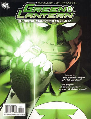 Cover for Green Lantern Super Spectacular #1 (2011)