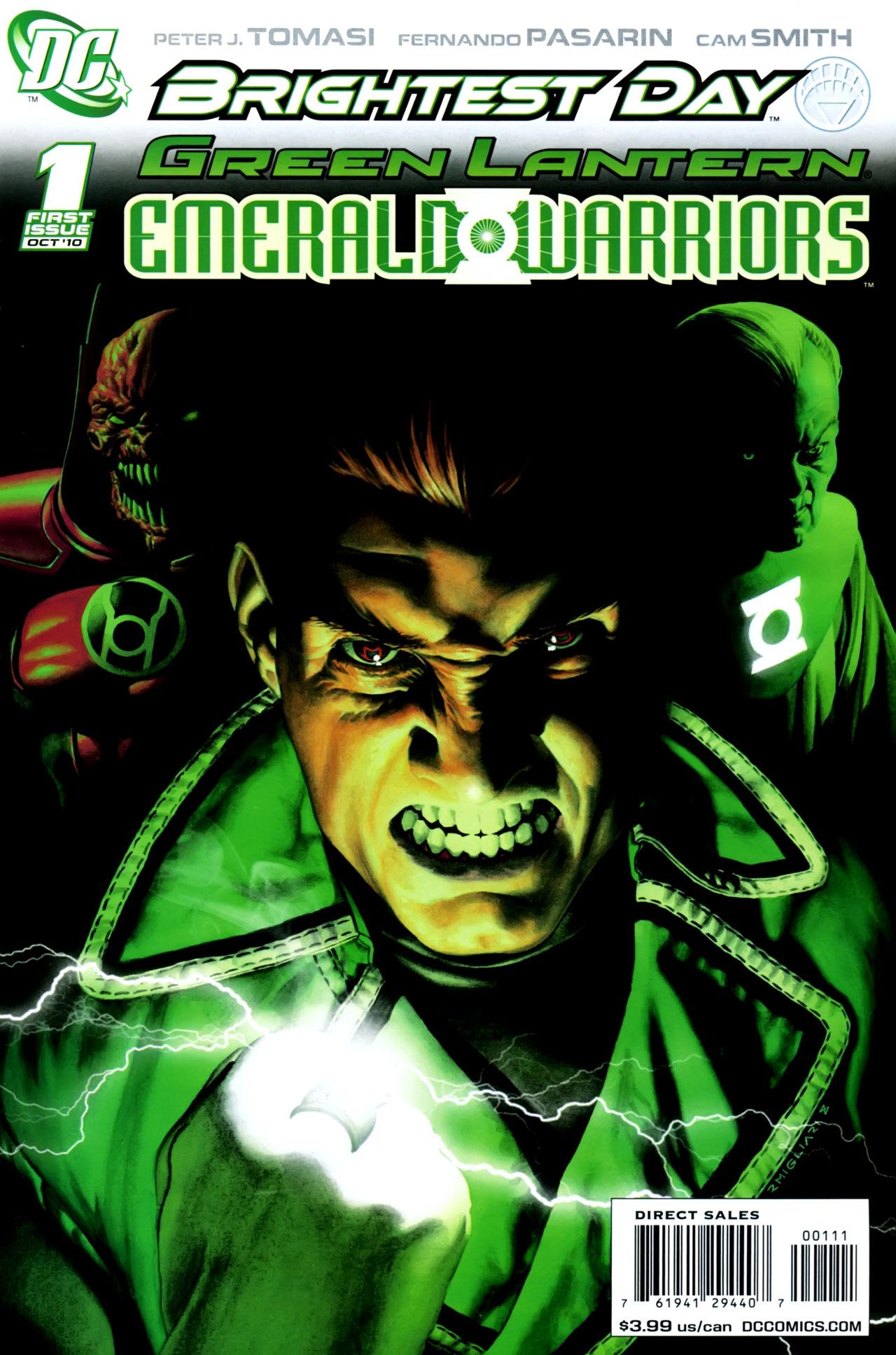 green lantern emerald warriors vol 1 dc database fandom powered by wikia