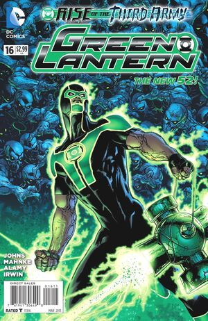 Cover for Green Lantern #16 (2013)