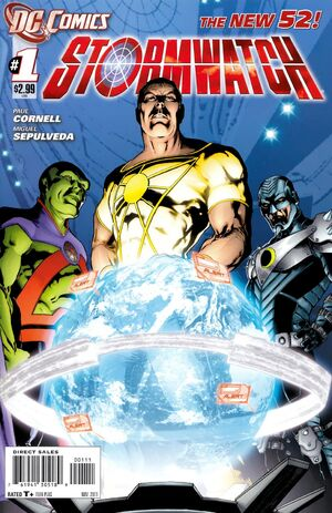 Cover for Stormwatch #1 (2011)