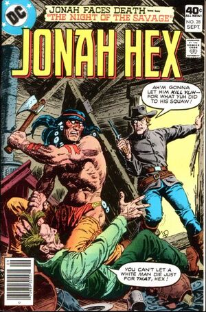 Cover for Jonah Hex #28 (1979)