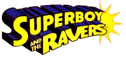 Superboy and the Ravers (1996) DC logo