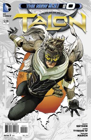 Cover for Talon #0 (2012)
