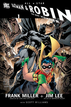 Cover for the All Star Batman and Robin, the Boy Wonder Trade Paperback