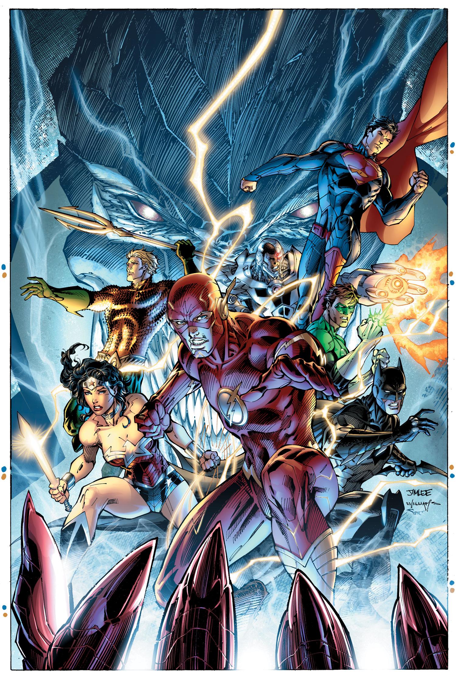 Justice Society Of America Wallpaper