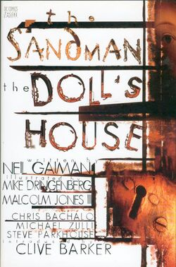 Cover for the Sandman: The Doll's House Trade Paperback
