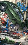 The Action Comics  #1 homage.