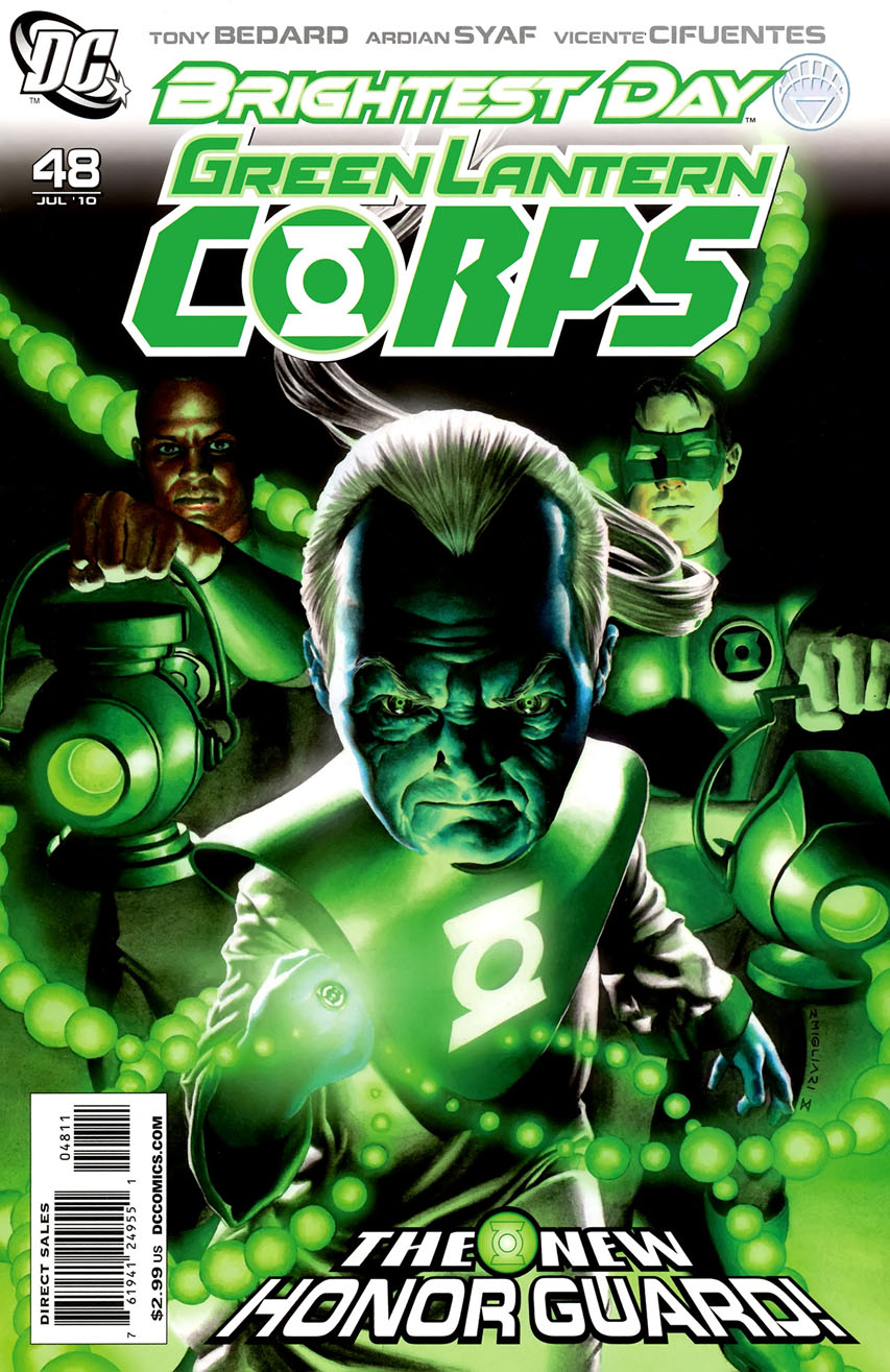 Green lantern corps comic cover - photo#8