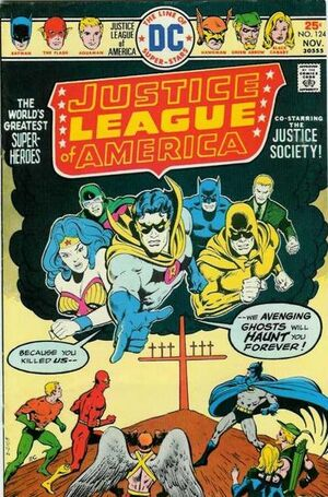 Cover for Justice League of America #124 (1975)
