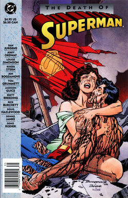 Cover for the Death of Superman Trade Paperback