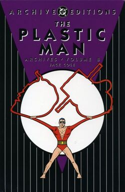 Cover for the Plastic Man Archives Vol. 8 Trade Paperback