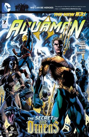 Cover for Aquaman #7 (2012)