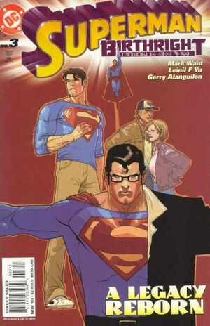 Cover for Superman: Birthright #3 (2003)