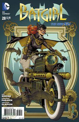 "Steampunk Variant by <a href=""/wiki/J.G._Jones"" title=""J.G. Jones"">J.G. Jones</a>"