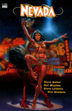 Cover for the Nevada: Piss on Earth Trade Paperback