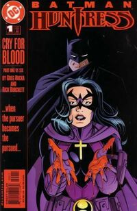 Batman Huntress Cry for Blood 1