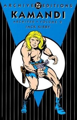 Cover for the Kamandi Archives Vol. 2 Trade Paperback
