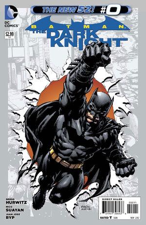 Cover for Batman: The Dark Knight #0 (2012)