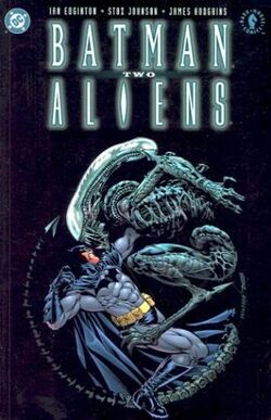 Cover for the Batman/Aliens II Trade Paperback