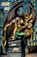 Katar Hol, Hawkman, Carter Hall, New 52
