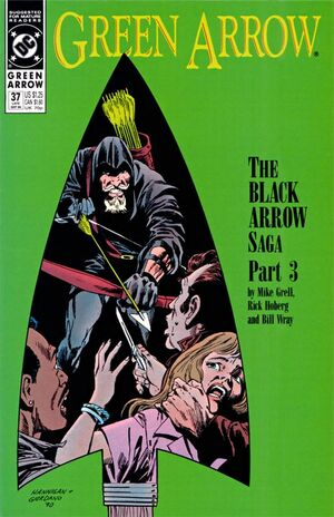 Cover for Green Arrow #37 (1990)