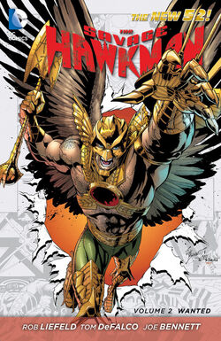 Cover for the Savage Hawkman: Wanted Trade Paperback