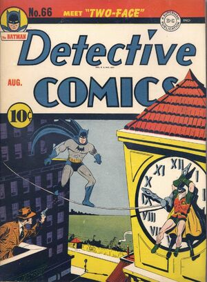 Cover for Detective Comics #66 (1942)