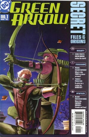 Cover for Green Arrow #1 (2002)