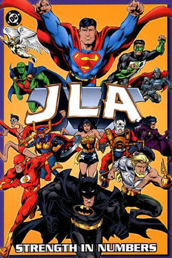 Cover for the JLA: Strength in Numbers Trade Paperback
