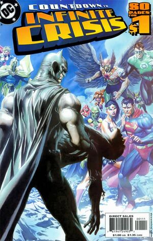 Cover for Countdown to Infinite Crisis #1 (2005)