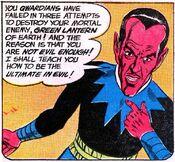 Sinestro evil rant