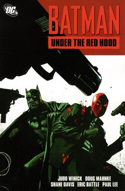 Cover for the Batman: Under the Red Hood Trade Paperback